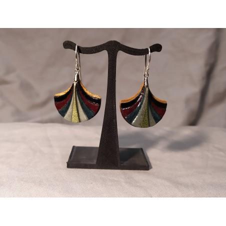 Boucles d'oreilles sculptées 02
