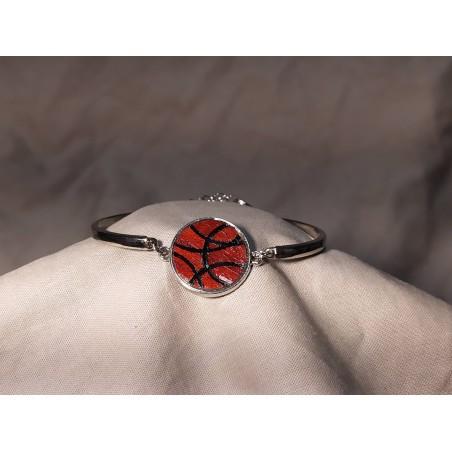 Bracelet Marqueté réglable en métal 01