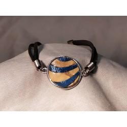 Bracelet marqueté avec...