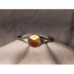 Bracelet marqueté en metal 01