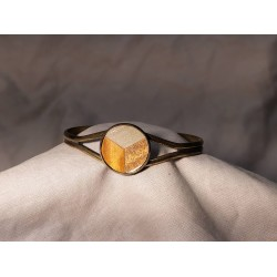 Bracelet marqueté en metal 06