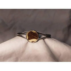 Bracelet marqueté en metal 07