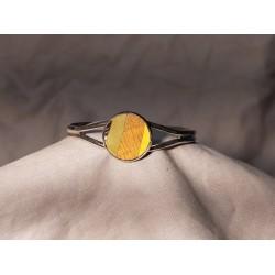 Bracelet marqueté en metal 08