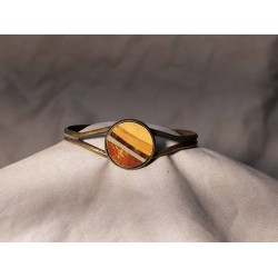 Bracelet marqueté en metal 10